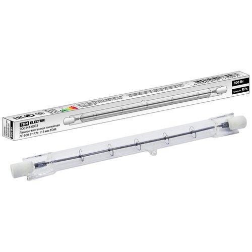 Фото - Лампа галогенная TDM ЕLECTRIC SQ0341-0003, R7s, 500Вт лампа галогенная tdm sq0341 0005
