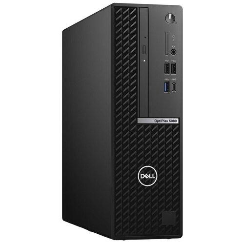 Настольный компьютер DELL Optiplex 5080 SFF (5080-6420) Intel Core i5-10500/8 ГБ/256 ГБ SSD/Intel UHD Graphics 630/Windows 10 Pro черный