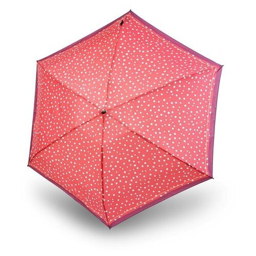 Зонт механика Knirps TS.010 Slim Small Manual Flakes Red зонт unit basic red