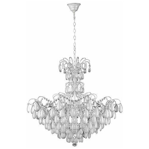 Фото - Люстра Crystal Lux SEVILIA SP9 SILVER, E14, 360 Вт подвесная люстра crystal lux sevilia sp9 silver