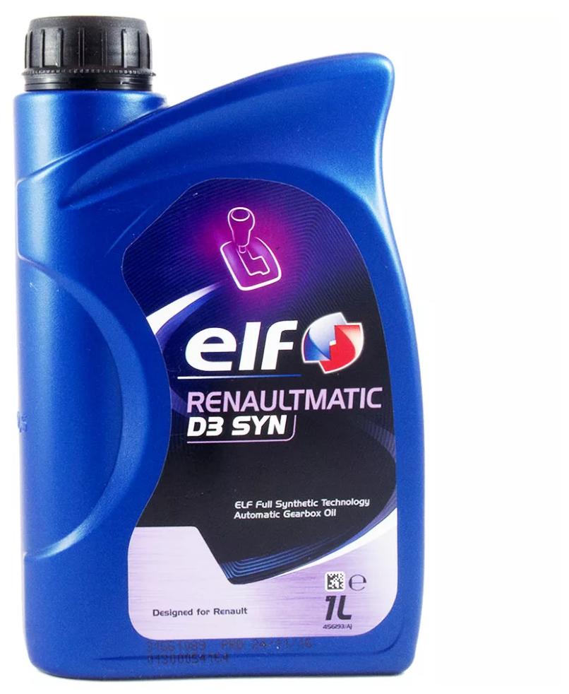 Масло трансмиссионное ELF Renaultmatic D3 SYN — купить по выгодной цене на Яндекс.Маркете