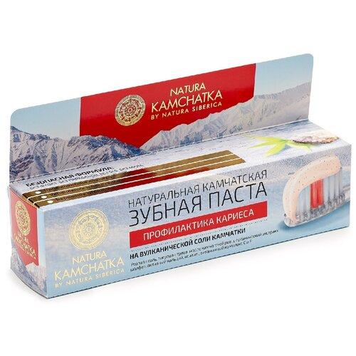 Зубная паста Natura Siberica Профилактика кариеса, 100 мл зубная паста natura siberica для чувствительных зубов 100 мл