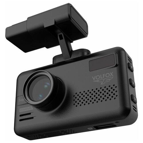 Видеорегистратор с радар-детектором Volfox VR-G550S, GPS, ГЛОНАСС, черный видеорегистратор avs vr 802shd черный
