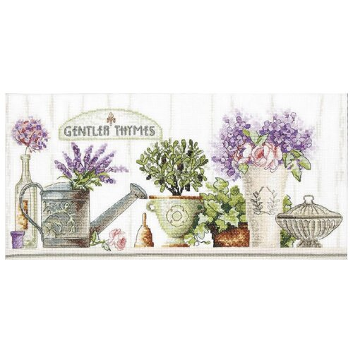 Купить Crystal Art Набор для вышивания Тихие времена 39 х 18.5 см (М-323), Наборы для вышивания