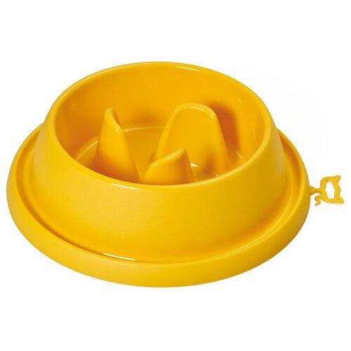 Миска интерактивная 1,5л ADAGIO BIG, желтый