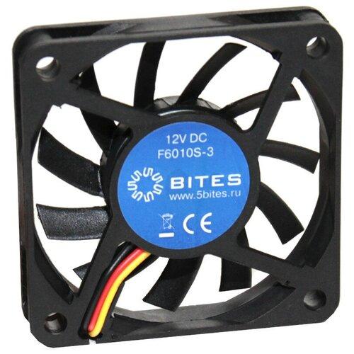 Вентилятор для корпуса 5bites F6010S-3 черный 1 шт. вентилятор для корпуса 5bites f6010s 3