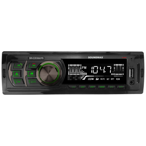 Автомагнитола SoundMAX SM-CCR3063FB, черный