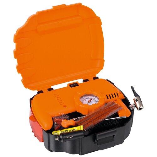 Фото - Автомобильный компрессор Daewoo Power Products DW 35L PLUS оранжевый/черный пылесос автомобильный daewoo power products davc100 черный оранжевый