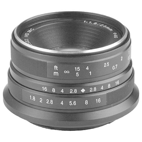 Объектив 7artisans 25mm f/1.8 Micro 4/3 черный