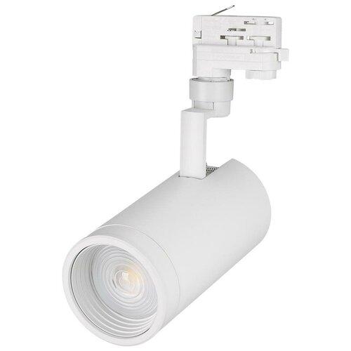 Трековый светильник-спот Arlight LGD-ZEUS-4TR-R100-30W Day4000 (WH, 20-60 deg) трековый светильник спот arlight lgd zeus 4tr r88 20w day bk 20 60 deg