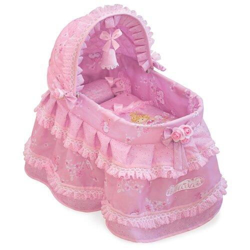Купить 51123 Кроватка для куклы с козырьком серии Мария, 46 см, DeCuevas, Мебель для кукол