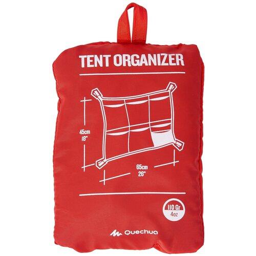 Сетка универсальная для палатки/шатра для кемпинга - 6 различных карманов QUECHUA X Декатлон