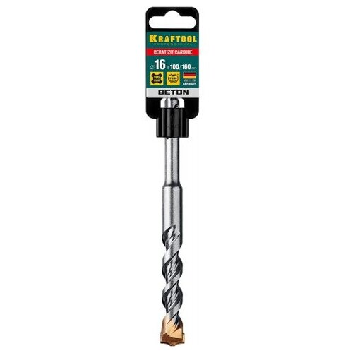 Бур SDS-plus Kraftool 29320-160-16 16 x 160 мм бур sds plus kraftool 29320 160 16 16 x 160 мм