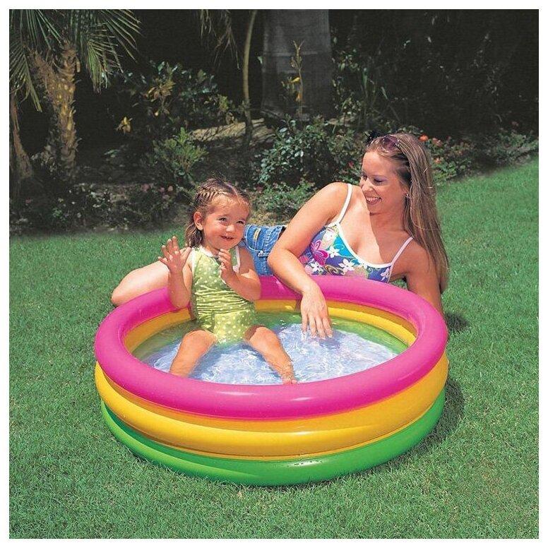 Детский бассейн Intex Sunset Glow Baby 58924