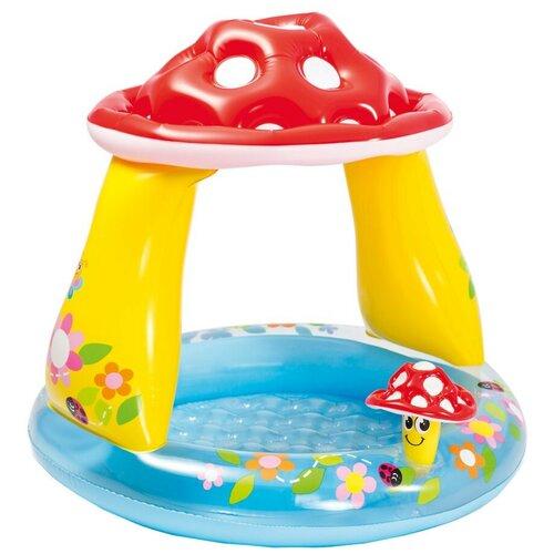Детский бассейн Intex Mushroom Baby 57114 детский бассейн intex royal castle baby 57122