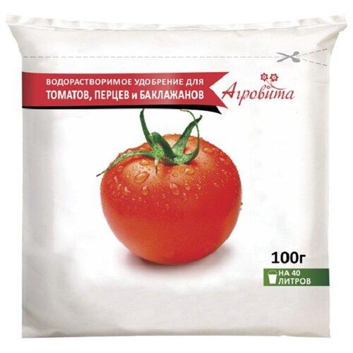 Удобрение Нов-Агро Агровита для томатов перцев и баклажанов 0.1 кг.