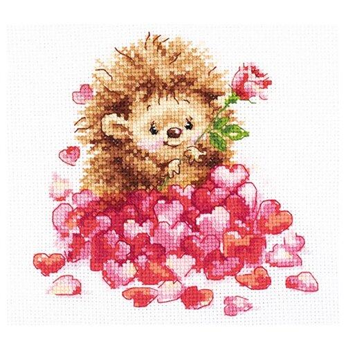 Фото - Алиса Набор для вышивания Любимка 14 x 14 см (0-211) алиса набор для вышивания тюльпаны малиновое сияние 22 x 26 см 2 43