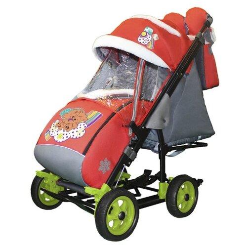 Купить Санки-коляска Galaxy City 3-1, Санки и аксессуары