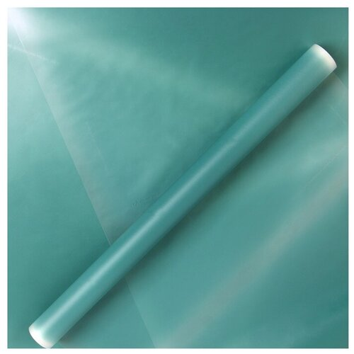 Бумага упаковочная Yiwu Zhousima Crafts Венец 500 х 60 см бирюзовый