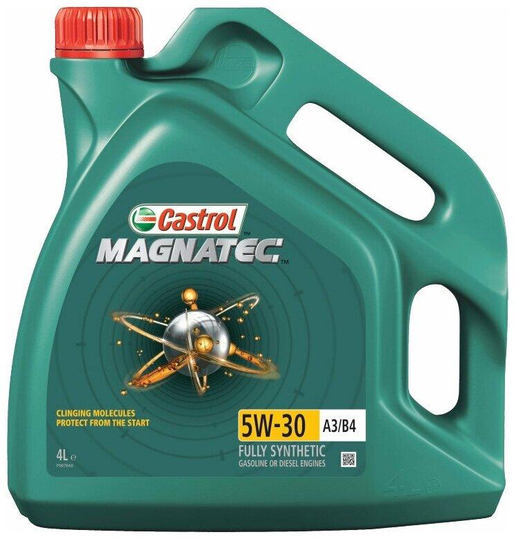 Купить Синтетическое моторное масло Castrol Magnatec 5W-30 А3/В4 4 л