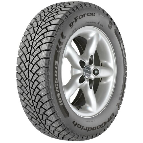 Автомобильная шина BFGoodrich g-Force Stud 185/65 R14 86Q зимняя шипованная 14 185 65 86 160 км/ч 530 кг Q (до 160 км/ч) Q