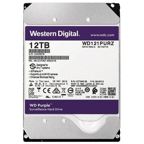 Жесткий диск Western Digital WD121PURZ жесткий диск western digital wd102purz