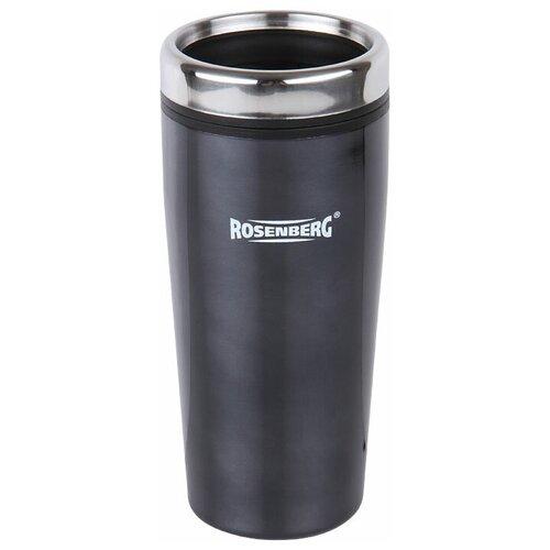 Термокружка ROSENBERG RSS-415003, 0.48 л черный