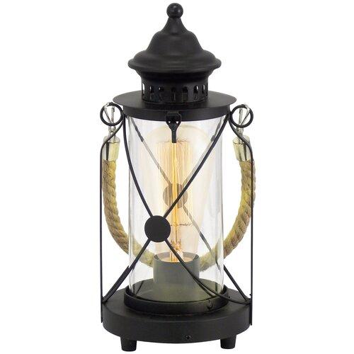 Фото - Настольная лампа Eglo Bradford 49283, 60 Вт настольная лампа eglo montalbano 98381 60 вт