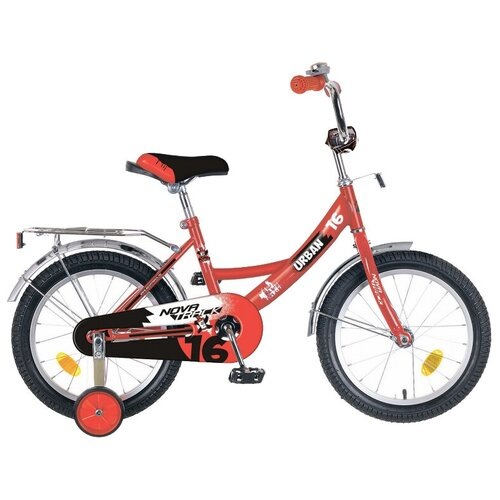 Фото - Детский велосипед Novatrack Urban 16 (2019) красный (требует финальной сборки) детский велосипед novatrack urban 16 2019 синий требует финальной сборки