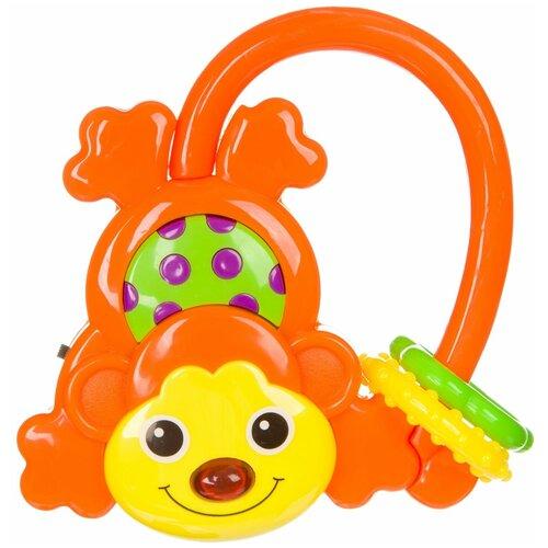 Погремушка BONDIBON Baby You Обезьянка ВВ3924 оранжевый недорого