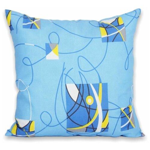 Подушка АльВиТек Антикризис (ПС-070) 68 х 68 см разноцветный подушка альвитек лён плн 070 68