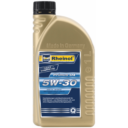 Синтетическое моторное масло Rheinol Primus DX 5W-30 1 л