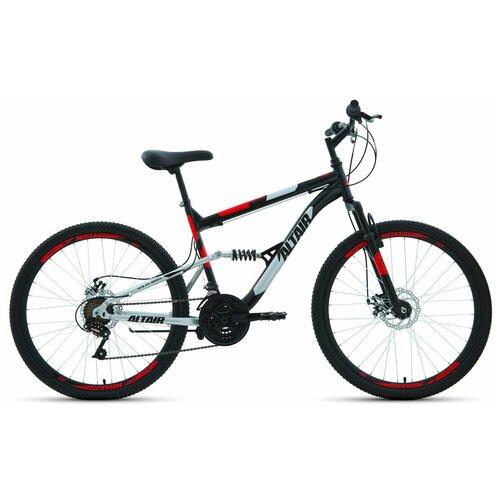 """Горный (MTB) велосипед ALTAIR MTB FS 26 2.0 Disc (2020) черный 16"""" (требует финальной сборки)"""