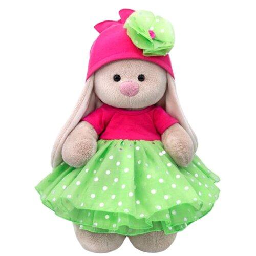 Мягкая игрушка Зайка Ми в платье с пышной юбкой из органзы 25 см мягкая игрушка зайка ми в платье в стиле кантри 25 см