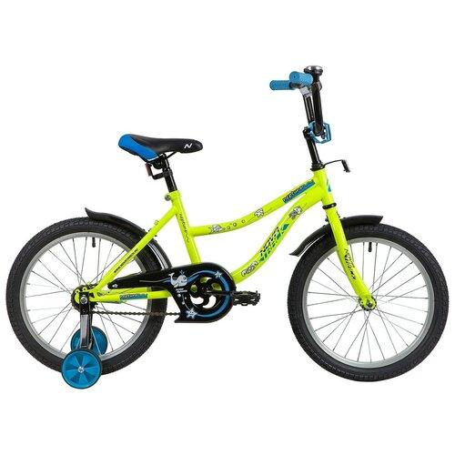 Фото - Детский велосипед Novatrack Neptune 18 (2020) зеленый (требует финальной сборки) детский велосипед novatrack twist 20 2020 зеленый требует финальной сборки