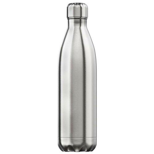 Термобутылка Chilly's Stainless Steel, 0.75 л серебристый