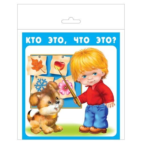 Набор карточек Искатель Кто это, что это? 17x15.7 см 18 шт.