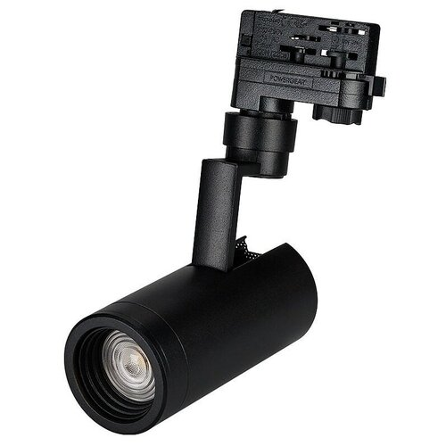 Трековый светильник-спот Arlight LGD-ZEUS-4TR-R67-10W White (BK, 20-60 deg) трековый светильник спот arlight lgd zeus 4tr r88 20w day bk 20 60 deg