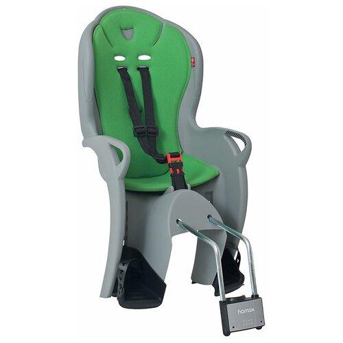 Заднее велокресло Hamax Kiss, серый/зеленый