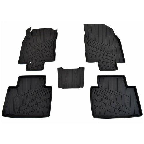 Фото - Комплект ковриков салона NorPlast NP11-LdC-61-812 для Nissan X-Trail 5 шт. черный комплект ковриков norplast np11 ldc 31 052 hyundai creta 5 шт черный