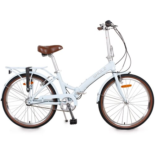 Городской велосипед SHULZ Krabi V-Brake голубой (требует финальной сборки)