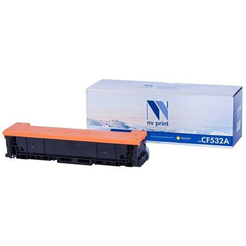 Фото - Картридж NV Print CF532A Yellow для HP, совместимый картридж nv print cf280x ce505x для hp совместимый