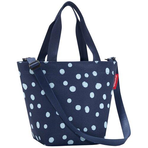 Сумка тоут reisenthel, текстиль, синий сумка тоут reisenthel текстиль красный