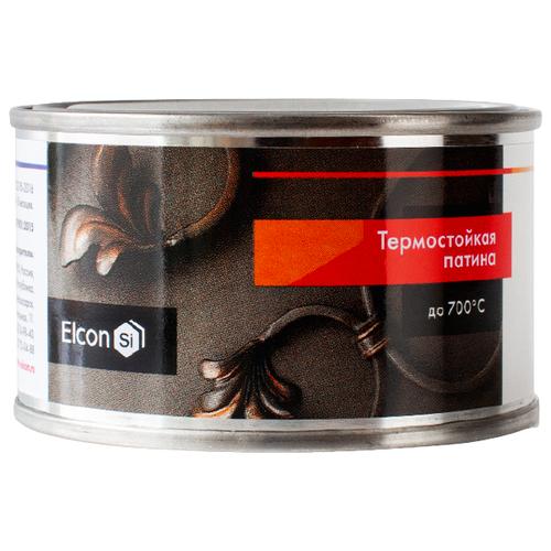 Краска Elcon Patina термостойкая красная медь 0.08 кг