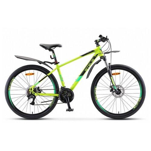Горный (MTB) велосипед STELS Navigator 645 MD 26 V010 (2020) лайм 20 (требует финальной сборки)