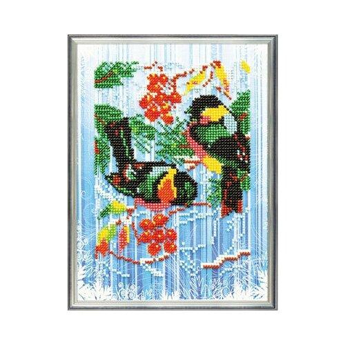 Купить Набор для вышивания Радуга бисера В-215 И вот уже трещат морозы 18 х 22 см, Наборы для вышивания
