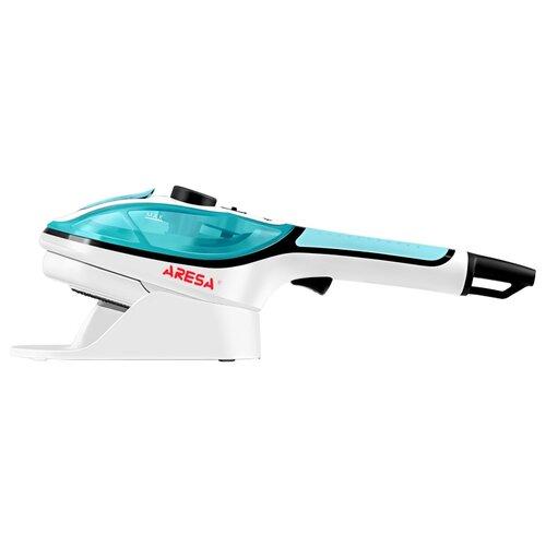 Отпариватель ARESA AR-2304, белый/бирюзовый