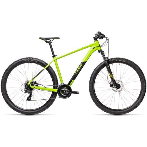 Горный (MTB) велосипед Cube Aim Pro 29 (2021) green/black 23 (требует финальной сборки) горный mtb велосипед kellys desire 90 2019 grey green m требует финальной сборки