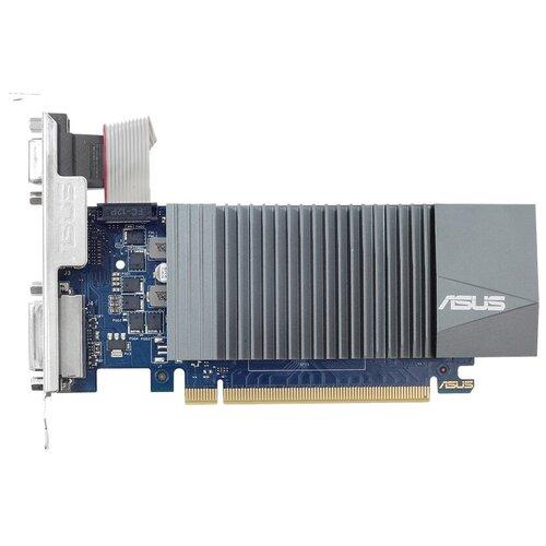 Видеокарта ASUS GeForce GT 710 Silent LP 2GB (GT710-SL-2GD5-BRK), Retail