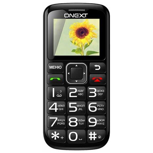 Фото - Телефон ONEXT Care-Phone 5, черный телефон onext care phone 5 синий